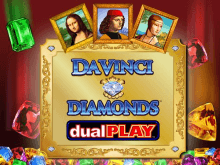 Азартная игра Бриллианты Да Винчи – Двойная Игра на фишки в демо